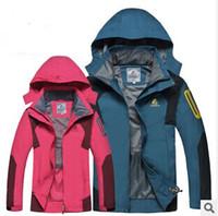 Wholesale Outdoor ski wear Windproof waterproof breathable mountaineering wear
