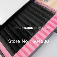 4 trays eyelash extension kit - Trays mm mm mm mm C C Lash Curl Black Individual Silk False Eyelashes Eye Lash Extension Kit Set