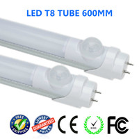 T8 8W SMD2835 PIR sensor T8 LED tube 600mm 8W 800lm 60cm 0.6m 2ft CE ROHS FCC SAA Superbright led fluorescent light bulb lamp lighting free shipping
