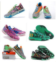 Mid Cut Men PU free shipping 2014 Christmas new kd 6 shoes,kevin durant V men basketball shoes men sport shoes 25 color size us 7~12