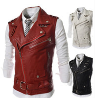 2014 new arrival casual slim fit men' s vest outwear men...