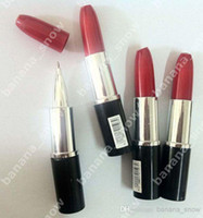 0.7mm novelty pens - 2014 Promotion lipstick pen Novelty Pen Lipstick Style Gift per