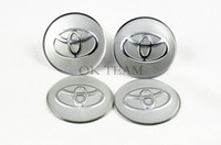 Wholesale Car Badges X Car Accessories Ornament Wheel Center TOYOTA Hub Cap Stickers mm emblems