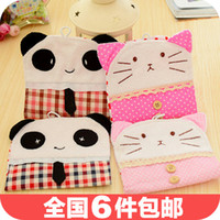 Bamboo Bedding Eco Friendly 3475 cute panda and cat models Meng Department of Korean admission package sanitary napkin package