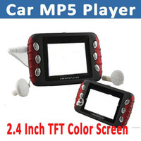Monitor TV Roof Free Shipping New car mp5 player with FM transmitter and 4GB built-in Memory