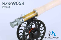 Wholesale Fly fishing reel and rod outfit IM12 NANO carbon fiber fly fishing rod ft weight HVC weight fly reel