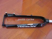Mountain Bikes forks - MOSSO M3 Nun suspension fork AL forks Disc brake only MTB fork BLACK