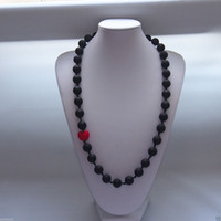 Beaded Necklaces bubble gum necklace - PICK COLORS Teething Necklaces Baby Safe Silicone Jewels BPA Free Bubble Gum Beads