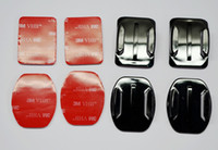 Wholesale Flat Adhesive Mount Curved Adhesive Mount For GoPro HD Hero2 Hero3 gopro accessories