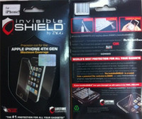 Front apple invisible shield - Wholesell ot Newest ZAGG Invisible Shield Maximum Coverage for iPhone s Full Body Protector