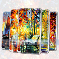 Wholesale 100 the factory price for samsung galaxy Note case D oil paint cover