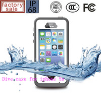 Wholesale Original Factory Price Shockproof Waterproof Case For iphone s with touch ID iphone c Waterproof Case Samsung Galaxy s3 s4 S5 note note3