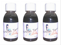 Wholesale 3 bottles Spray Tanning ot in the sun painted bronze skin pigment for Temporary airbrush tattoo good quality