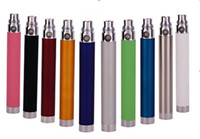 wholesale electronic lots - Electronic cigarette battery ego t USB Battery pass through battery e cig ego u battery attached usb line charged from bottom