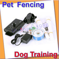 Wholesale In Ground Electric Fencing System Pet Dog Training Collar