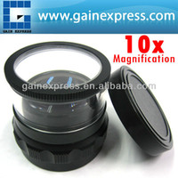 Wholesale 10x Magnification mm Magnifier Loupe Interchangeable Reticle mm Scale mm Field of view