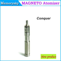 Cheap Huge vapor newest mechanical mod Magneto atomizer Conquer vapor vaporizer clone 3D Nimbus Omega Taifun patriot for astro battery 002305