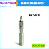 Cheap Newest Huge vapor mechanical mod Magneto atomizer Conquer vaporizer clone 3D Nimbus Omega Taifun patriot for astro battery 002305 Free DHL