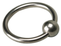 leather   New Sex Tool Stainless Steel Penis Cock Ring Control Ring With Ball Head Adult Sex Massager Tools For Men