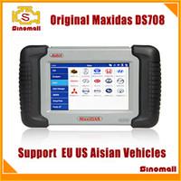 Wholesale 100 Original Autel MaxiDAS DS708 DS auto scanner diagnostic tool update online Multi language