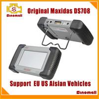 maxidas ds708 - 2015 Original Autel Maxidas DS708 DS diagnostic tool Updating Online Multi language support US EU Asian cars