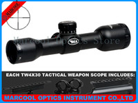 Wholesale Reasonable Price Airsoft Sight Scopes BSA Tactical Weapon X30 rifle scope with Mil Dot scopes Hunting Riflescope