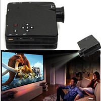 Wholesale Portable LZ H80 Pixels Support LED Digital Video Game Home Mini Projector with Remote control