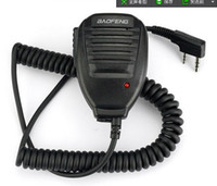 Wholesale New Original BaoFeng way Radio Speaker Mini Mic Microphone for BaoFeng UV R R PUXING