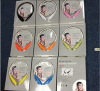 Wholesale 50 Bluetooth Stereo Headset Wireless earphone sport headphone For LG iPhone Samsung HB Also Sell HBS A