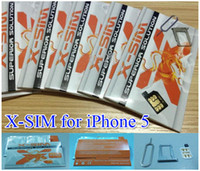 Original hot sale x- sim for iphone 5 5G with free shipping x...