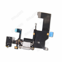 Wholesale 5 Back Charger Dock Connector Signal Antenna Flex Cable With Headphone Jack Mic for iPhone G Replacement