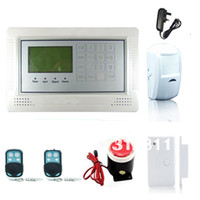 Wholesale Wireless Home Security GSM Alarm Kits Basic Configuration