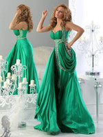 Reference Images Spaghetti Straps Satin Plus Size 2014 Arabic Evening Ball Gowns Halter Green Backless Jajja Couture Dress Ball Long Chiffon Prom Dresses Cheap Sexy Crystal Fashion