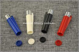 Wholesale 12pcs lighter shape Pill box Outdoor Survival Big Size WaterProof Pill Case snuff snorter