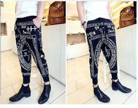 Pants Women Wide Leg The new The eagle printing haroun pants