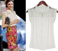 Cheap lace Shirt camiseta vintage saia acessorio women's 2013 blusas femininas roupas casual dudalina Camisa CS4009