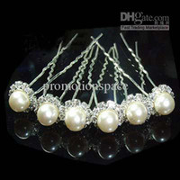 Wholesale hot sale fast shipping There are many crown crystal wedding accessories pearl hairpins