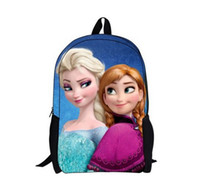 backpack Anna Elsa girls bags Frozen EMS free shpping4 stye ...