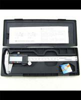 digital vernier caliper 240 x 80 x 12mm 0-150mm / 0-6 inch 150mm 0.01mm LCD Micrometer Guage Digital Caliper Vernier Digital Vernier Calipers S1008 free shpping