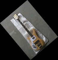 wooden left handed bass guitar - New String Electric Bass Guitar stereo varitone natural in left handed