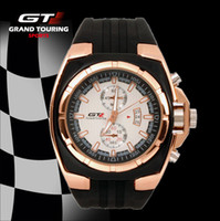 Cheap 2014 Hot Sale Lobor Racing GT watch Grand Touring Rubber Watchband Japan Movement Luxury Watches free shipping