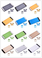 Wholesale Metal Housing Battery Back Cover Back Bezel For iPhone With Buttons