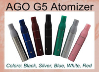 Non-Replaceable Plastic Electronic Cigarette AGO G5 Dry Herb Atomizer clearomizer for ego 510 ago electronic cigarette AGO atomizer G5 pen style dry herb vaporizers ago Atomizer