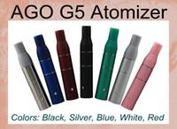 Cheap AGO G5 Dry Herb Atomizer clearomizer for ego 510 ago electronic cigarette AGO atomizer G5 pen style dry herb vaporizers ago Atomizer ATB001