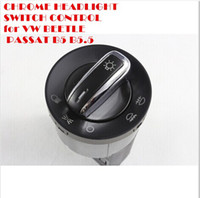 Wholesale CHROME HEADLIGHT SWITCH CONTROL for VW BEETLE PASSAT B5 B5 JETTA GOLF MK4 BORA