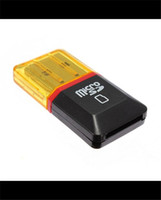 Wholesale New Arrival Micro SD SDHC TF Flash Memory Card Reader USB Adapter Memory Card Readers PC