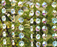 Wholesale Crystal Garland Acrylic Gems Bead Chain Strands Wedding Centerpieces Manzanita Tree Hung Strands Strung