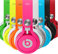 Wholesale 2014 Original NEW Limited Edition Neon Green MIXR On ear Headphones for iPhone iPod ipad OY
