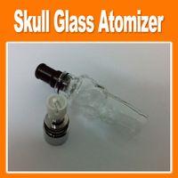 Cheap Replaceable Skull Glass Atomizer Best Glass  Herb Vaporizer