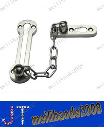 Wholesale Door Security Safety Chain Guard Lock Locking Stainless Steel MYY1268